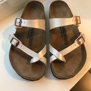 Birkenstock women's sandals.